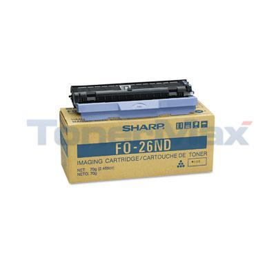 SHARP FO-2600 2700 TONER/DEVELOPER